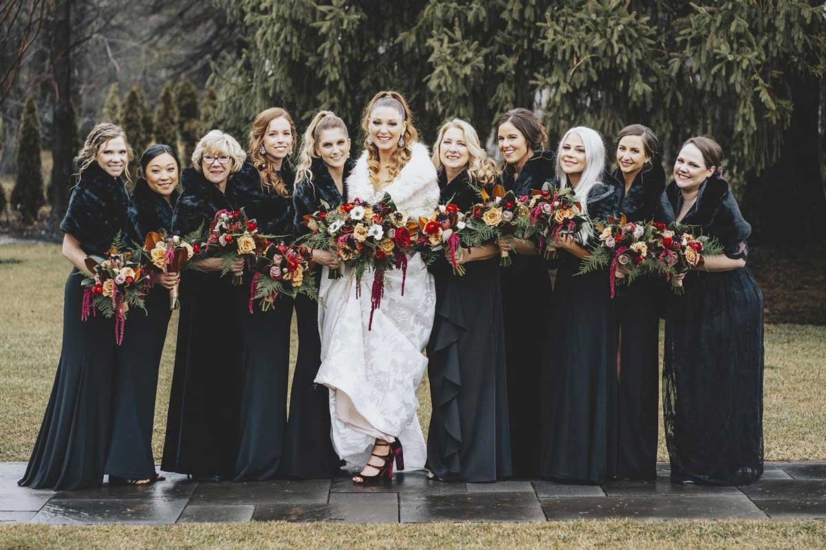 Group of women's in grown