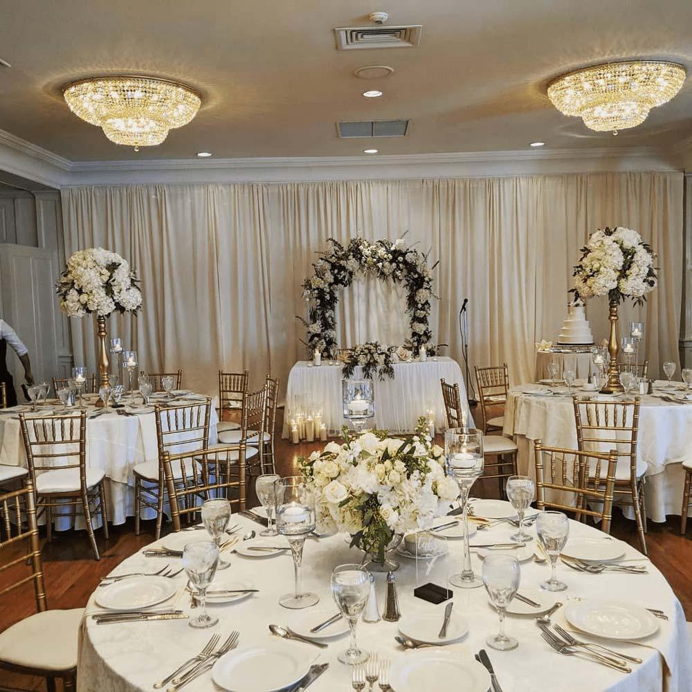 party wedding arrangement
