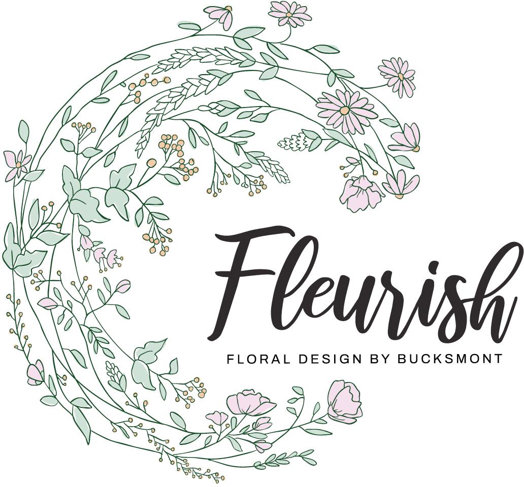 Fleurish Floral Design Logo
